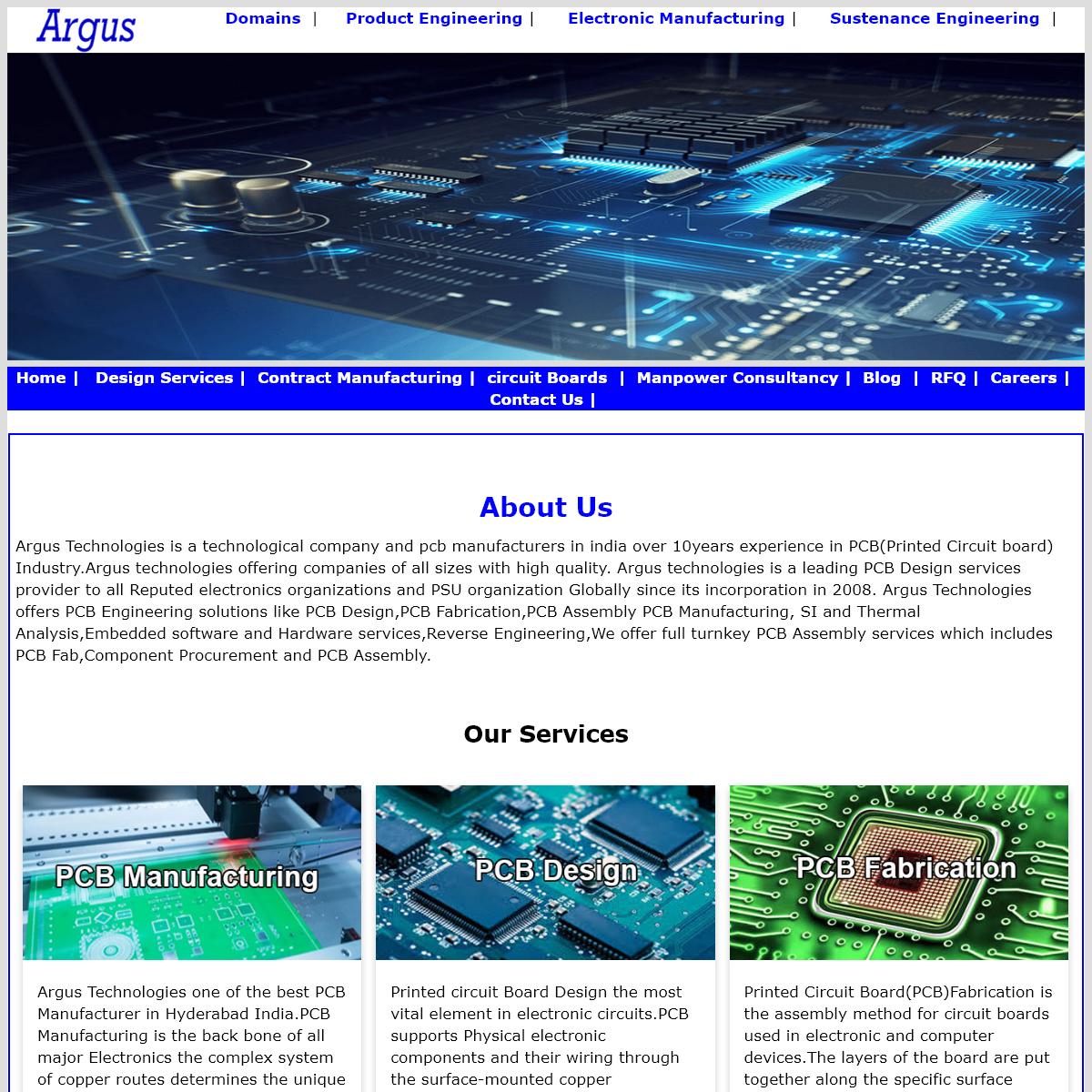 Printed Circuit Board Design Service in India
