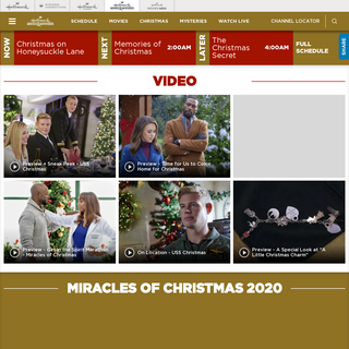 Hallmark Movies & Mysteries TV Official Site