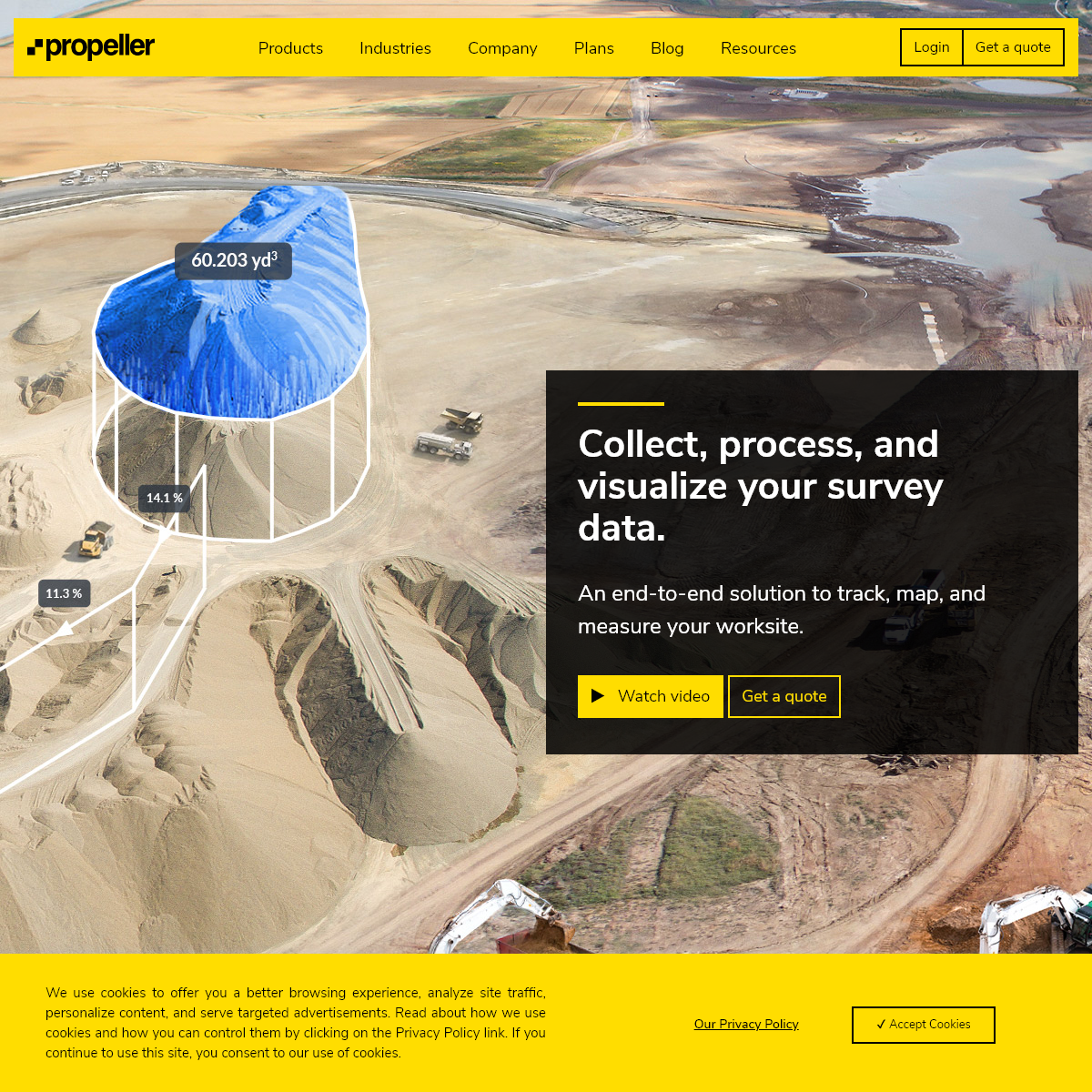 Propeller - 3D Drone Mapping & Analytics