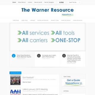 The Warner Resource - Your Broker Resource Center