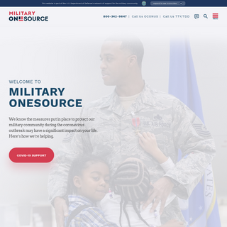 Support for Military Personnel & Families - Military OneSource
