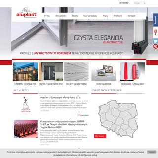 aluplast- producent systemów okiennych z PVC. Idealne profile = Idealne okna