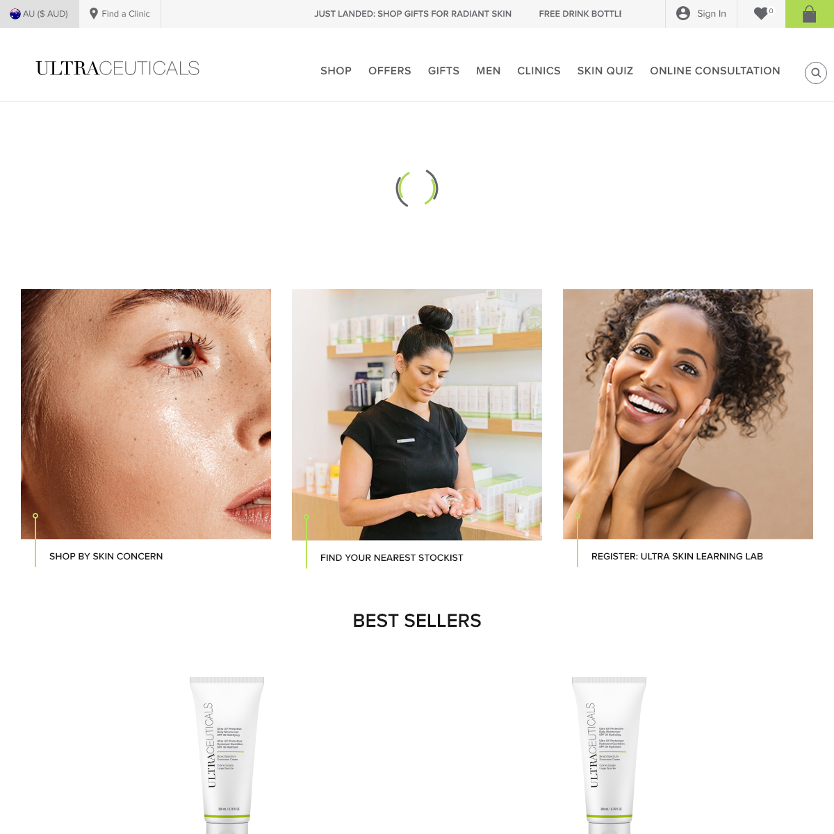 Australian Made Skincare - Real Results - Ultraceuticals