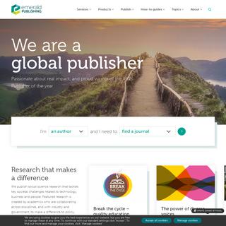 Home - Emerald Publishing