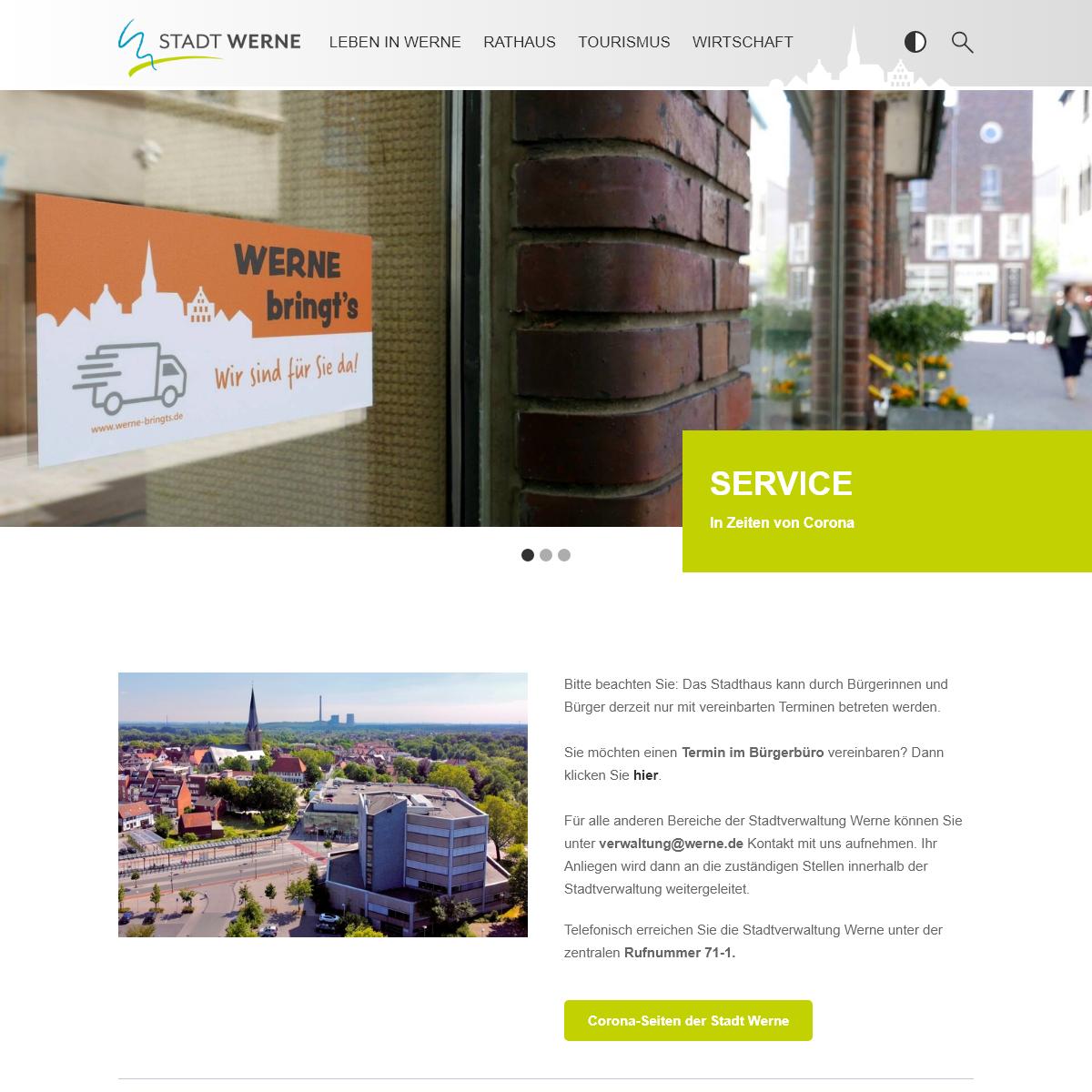 Startseite – Stadt Werne