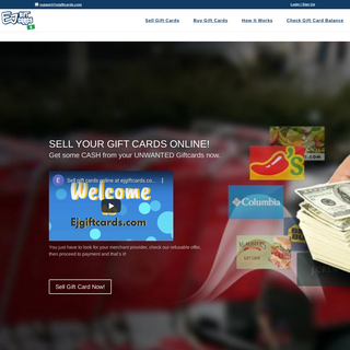 EJ Gift Cards - Buy & Sell Giftcards Online