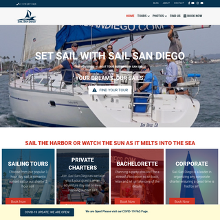 Sail San Diego Sailing, Whale Watching & Private Charters