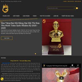 Kinggold.vn - Vua quà tặng Vàng