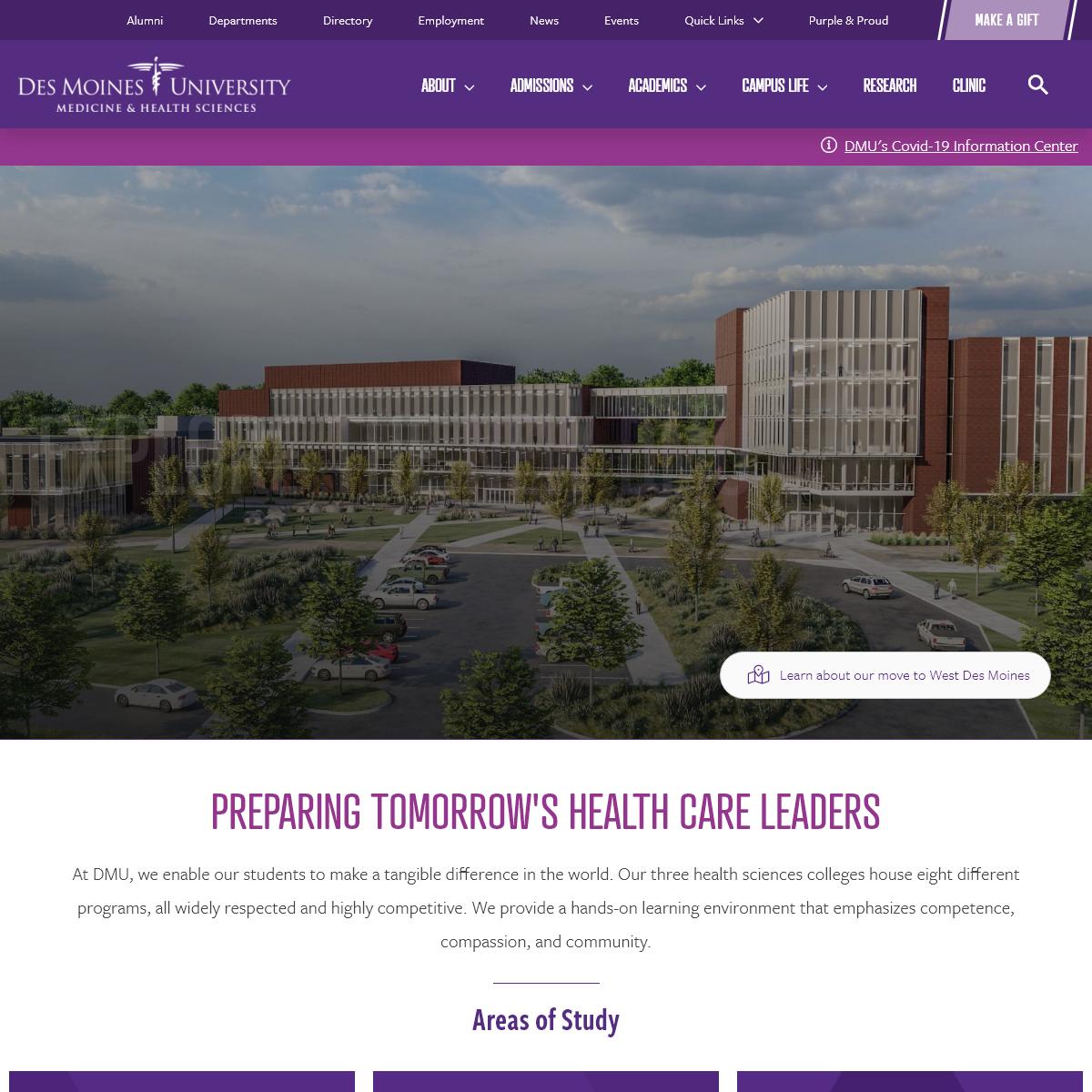 Des Moines University - Medicine and Health Sciences