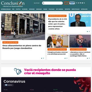 Conclusión – Diario Digital - Noticias de Rosario y la región