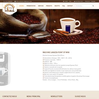 Hiba handling tunisie, sirops tunisie, commerce et distribution en gros tunisie, machines à café lavazza tunisie,