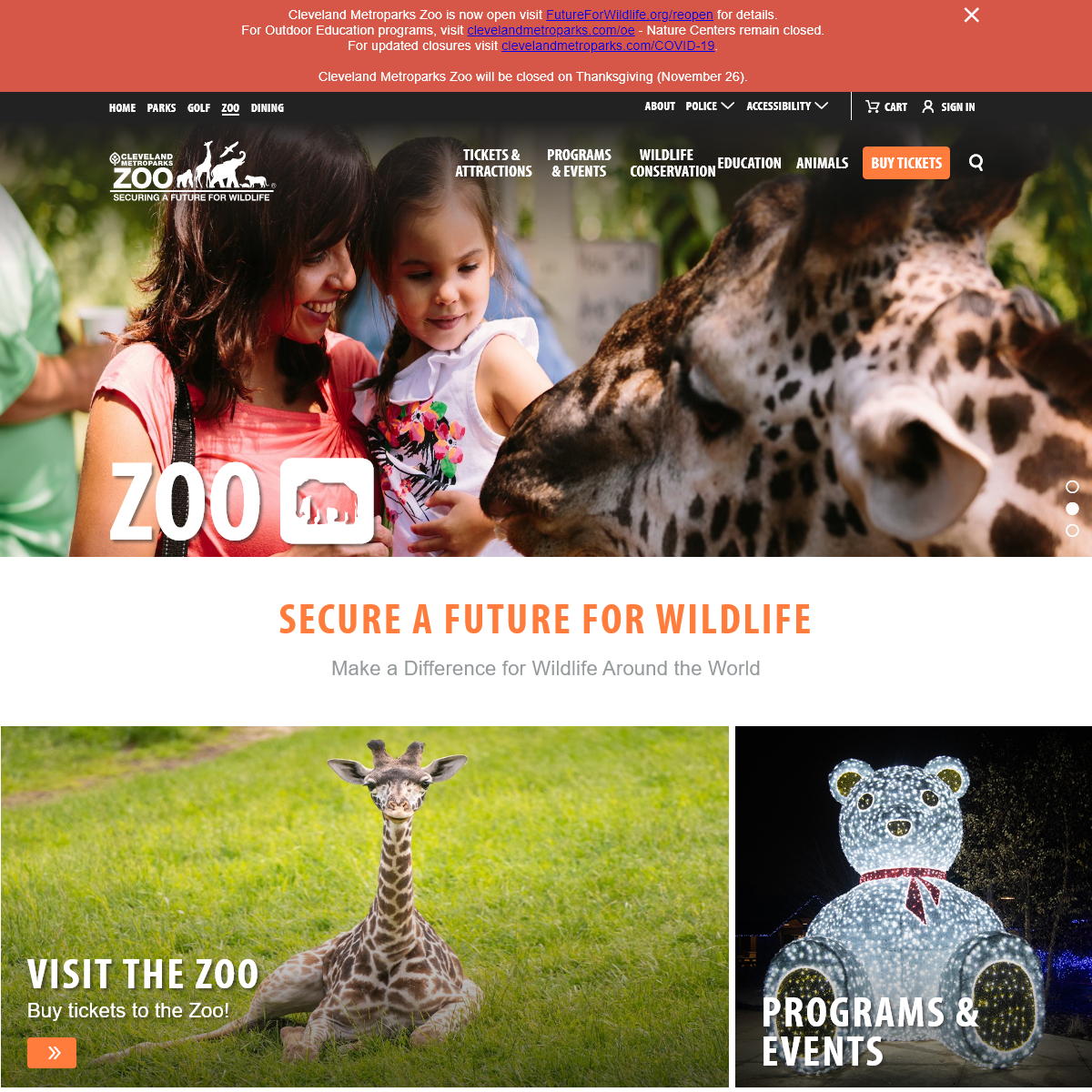 Visit a Top Ohio Zoo - Cleveland Metroparks Zoo - Cleveland Metroparks