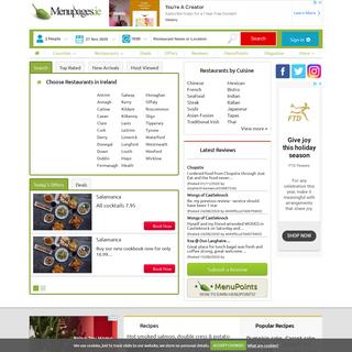 Dublin Restaurants, Menus, Ratings, Reviews, Dublin Restaurants Guide