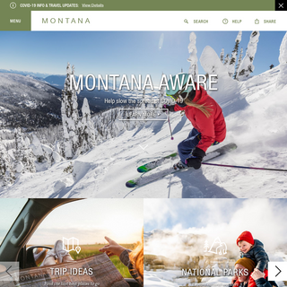 Montana's Official Tourism, Travel & Vacation Info Site