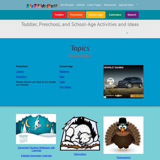 A to Z Kids Stuff - Fun Educational Themes for Toddler, Preschool, and School-Age Children