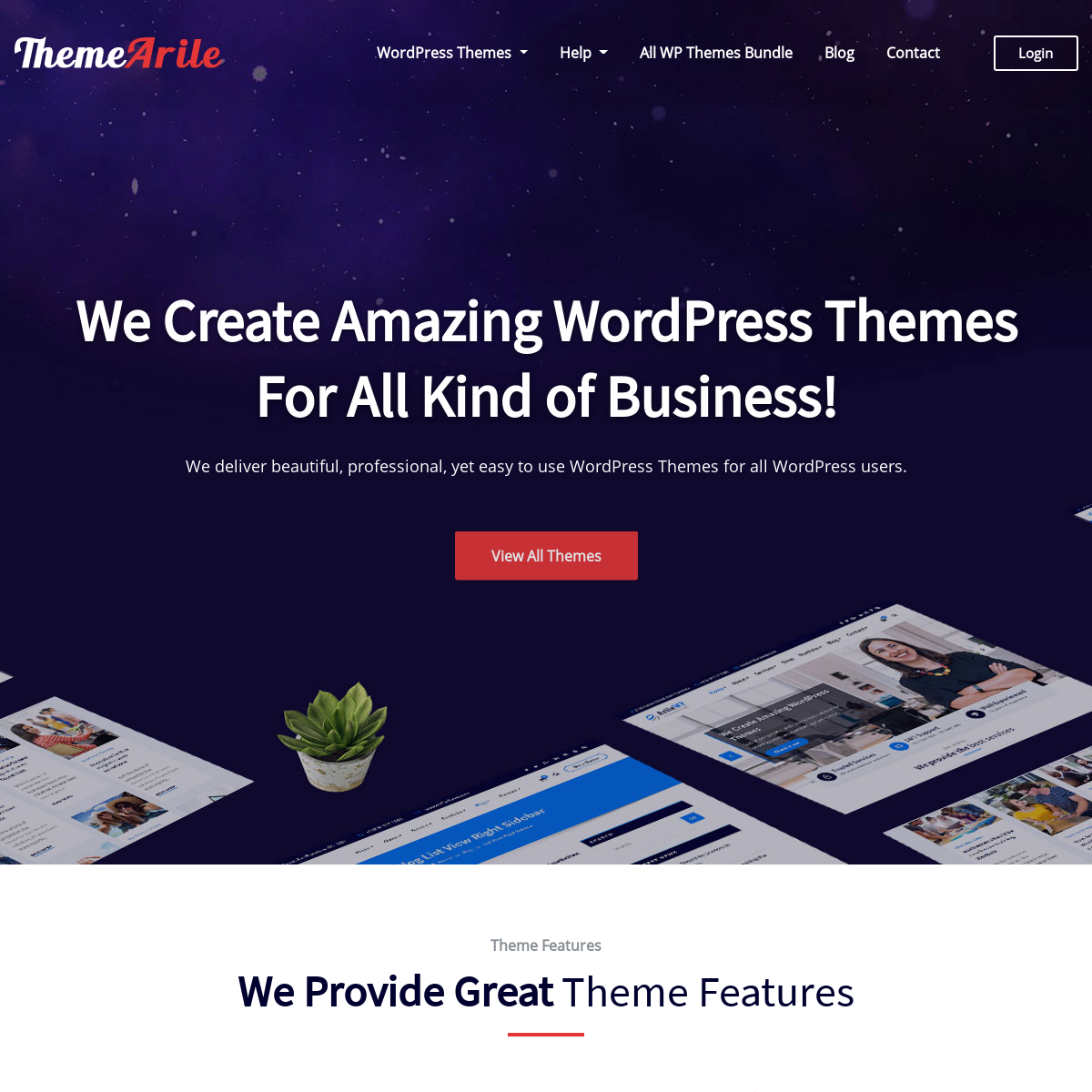 Premium WordPress Themes and Templates