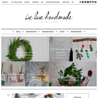 we love handmade - Blogazine