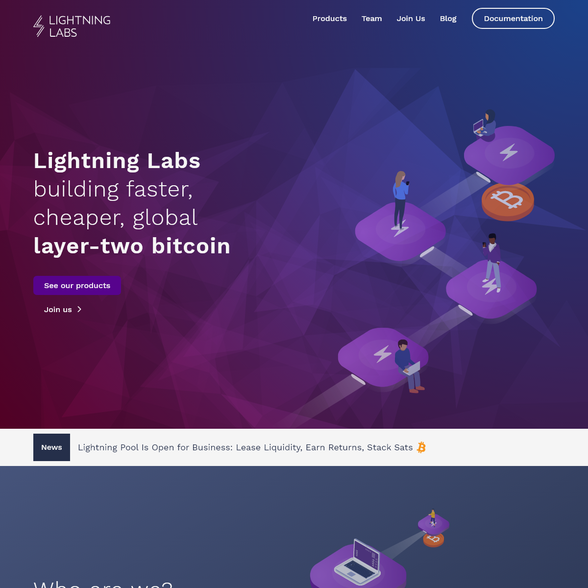Lightning Labs - faster, cheaper, global layer two bitcoin - Lightning Labs