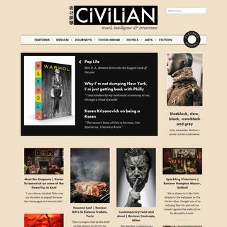 CIVILIAN - Global intelligence, style & culture