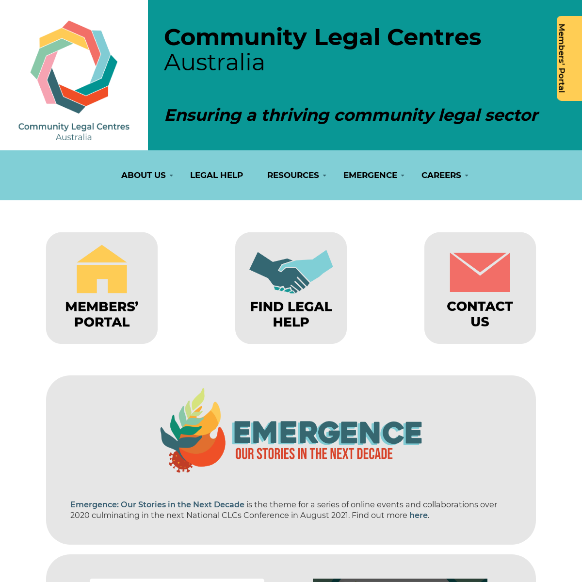 Welcome to Community Legal Centres Australia - Community Legal Centres Australia