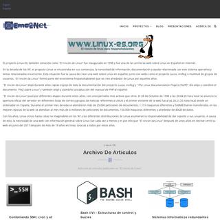 Linux-ES - Emc2Net
