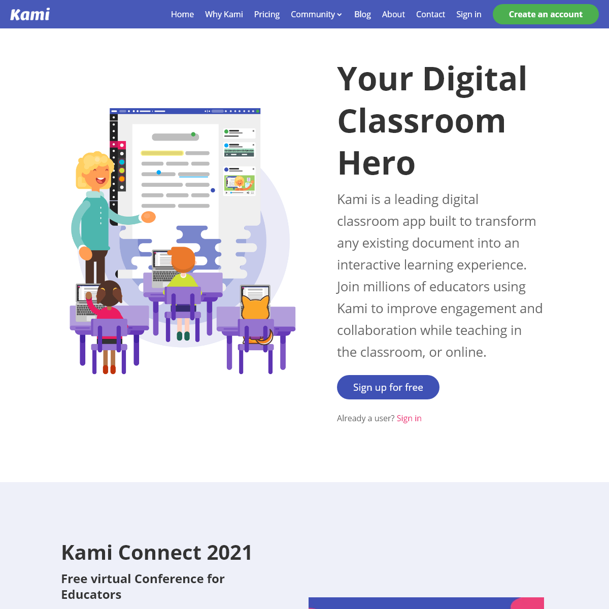 Kami - Your Digital Classroom Hero