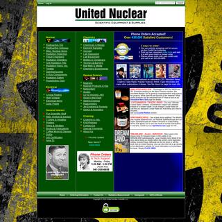 United Nuclear , Scientific Equipment & Supplies