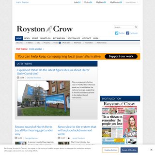 Royston News, Sport & What`s On - Royston Crow