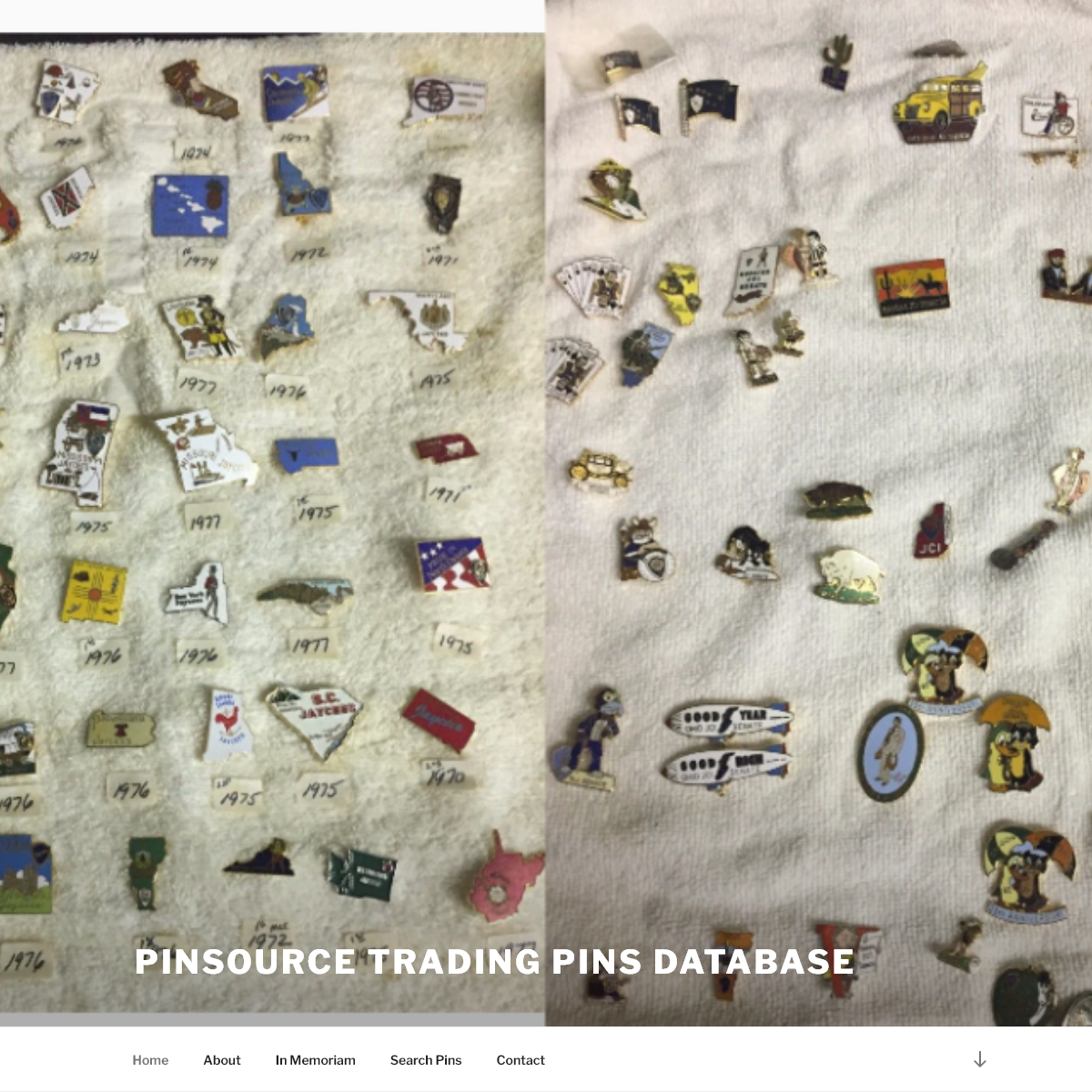 Pinsource Trading Pins Database