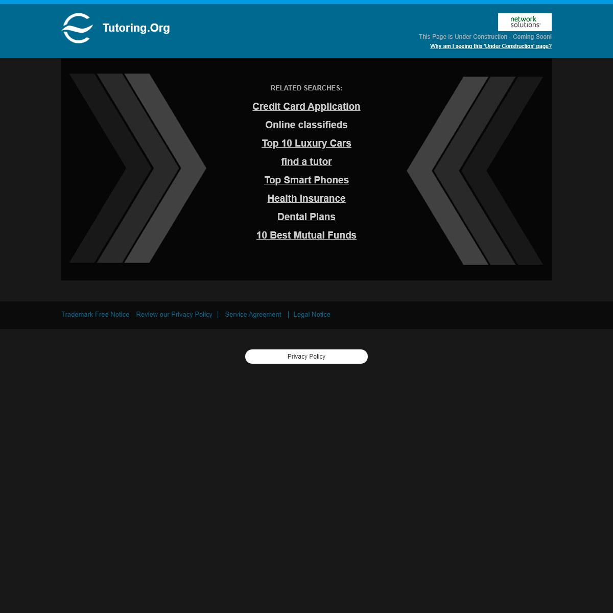Tutoring.org