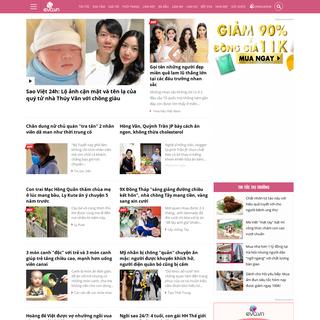 Tin tức PHỤ NỮ - Bà bầu - Làm mẹ - Làng sao - Thời trang - Bếp eva
