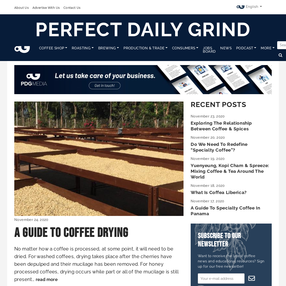 Home - Perfect Daily Grind