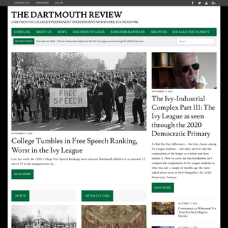 Home - The Dartmouth Review