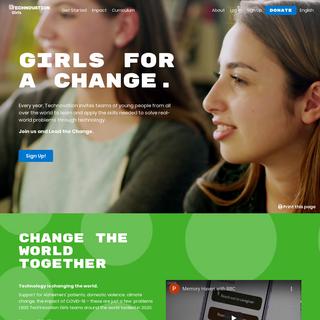 Technovation Girls- Technology and Entrepreneurship for Girls