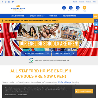Stafford House International - English Schools in the UK and Canada