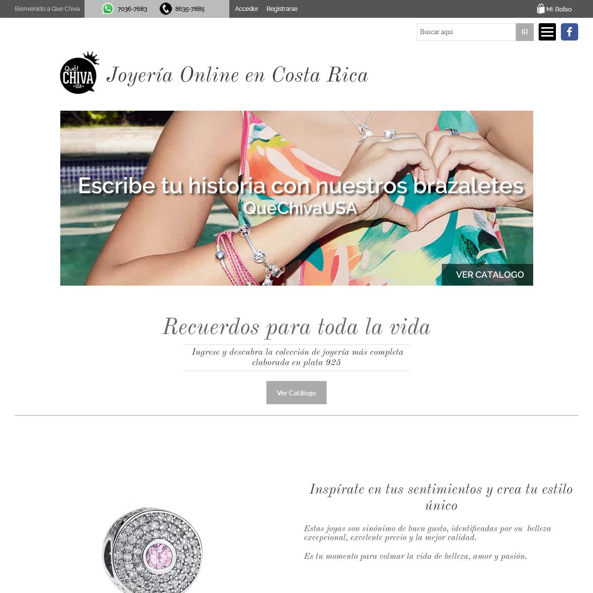 Que Chiva – Online Jewelry - Joyas, anillos collares, pendientes, aretes, pulseras y charms