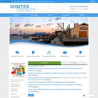 Sumter County, FL - Official Website - Official Website
