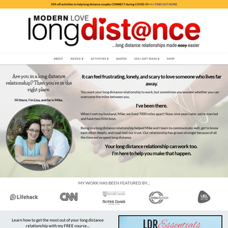 Make Your Long Distance Relationship Work - ModernLoveLongDistance