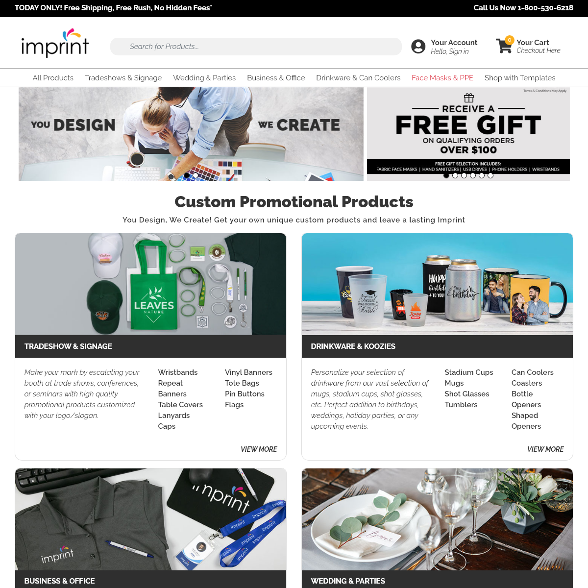 Imprint- Custom Promotional Products - Design Your Own