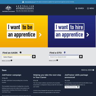 Home - Australian Apprenticeships