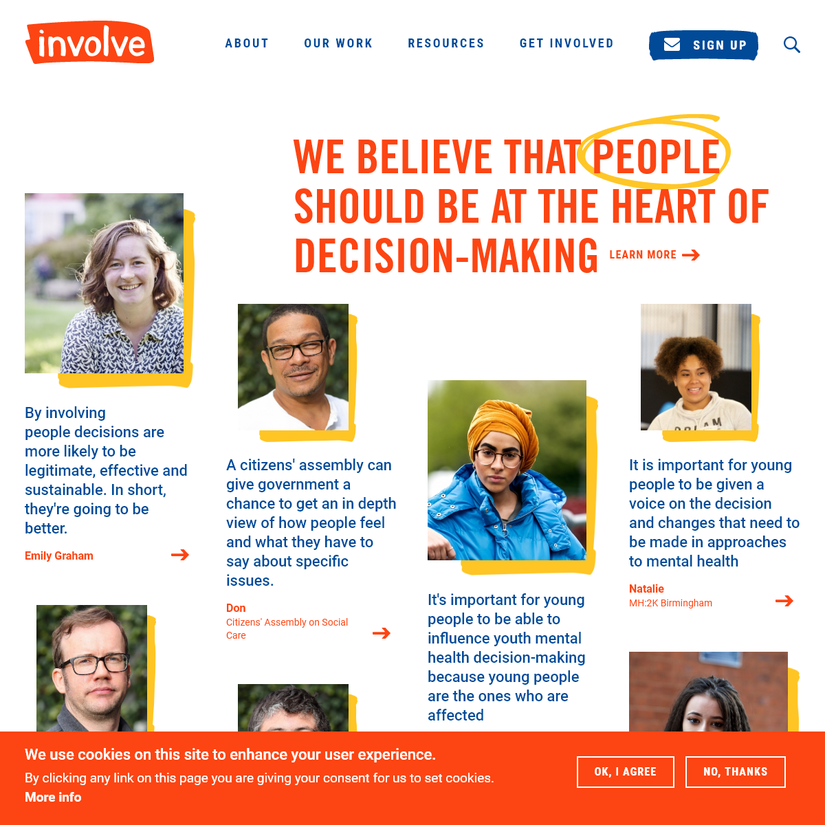 involve - people at the heart of decision-making - involve.org.uk