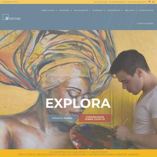 Escuela de Artes Plásticas y Diseño - La Universidad que reta tu creatividad