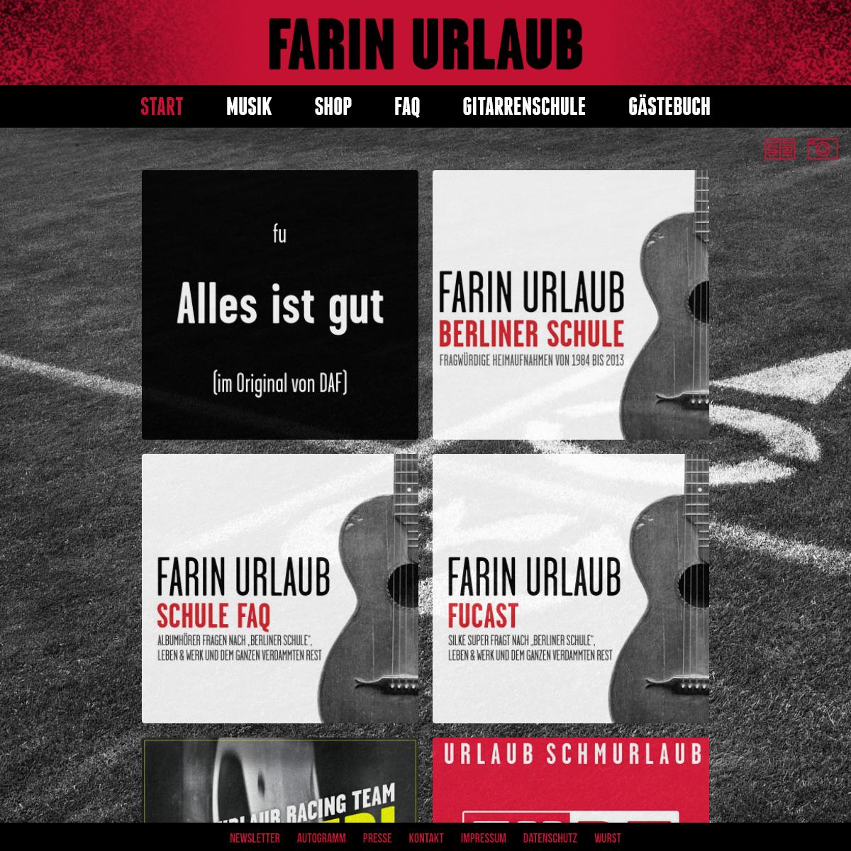 A complete backup of farin-urlaub.de