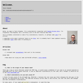 A complete backup of cmpxchg8b.com