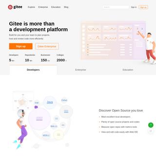 Gitee - Software Development and Collaboration Platform