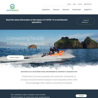 Homepage - Earthwatch