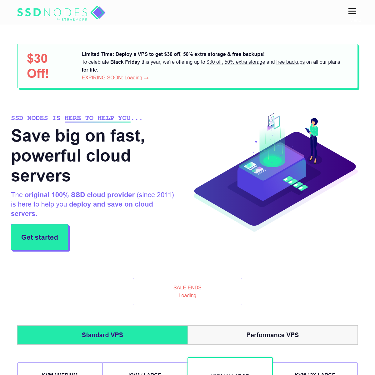 SSD Nodes - VPS Cloud Hosting For Hundreds Less