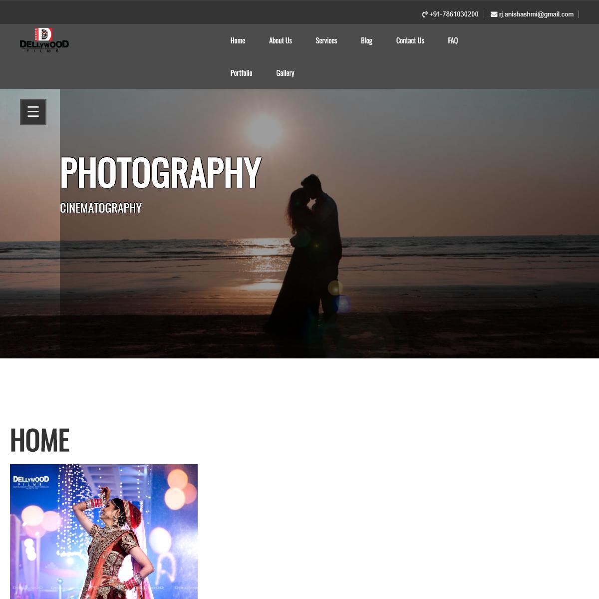 photography – Cinematography