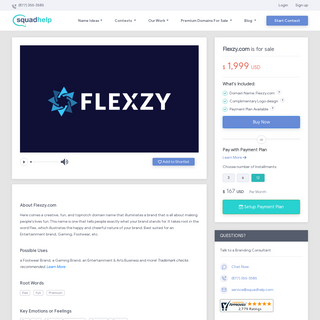 Flexzy.com is for sale