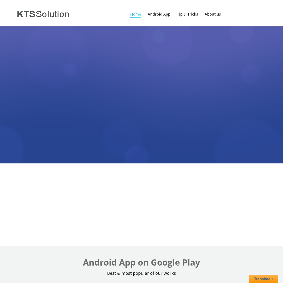 Home Page - KTS Solution